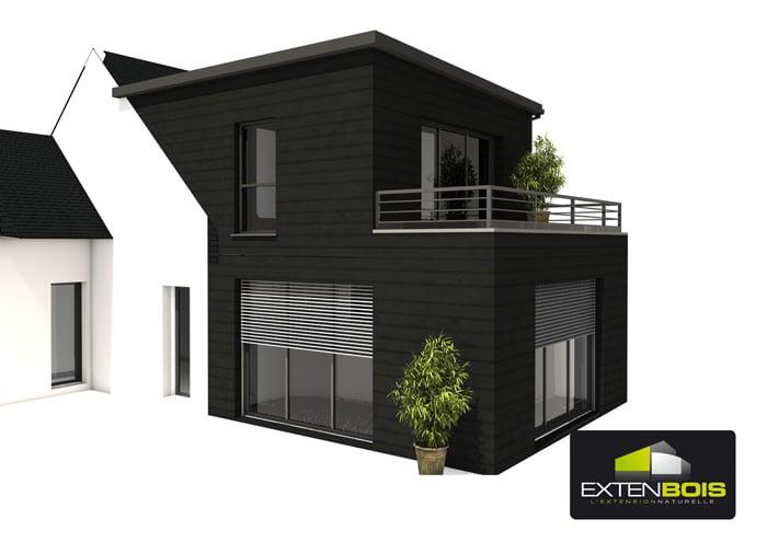 Extension bois archives extenbois l extension bois pour for Agrandir maison bois